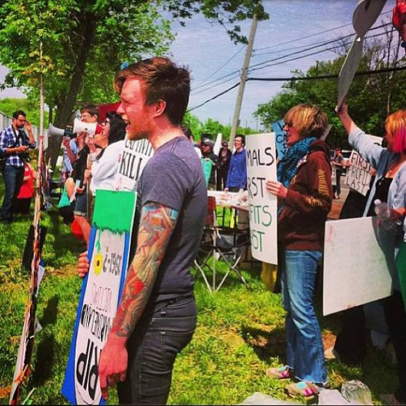 Marineland Protest May 18, 2013 by Dylan Powell