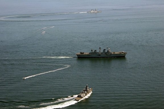 Naval exercises in the North Sea and Atlantic Ocean Concluded April 29, 2013