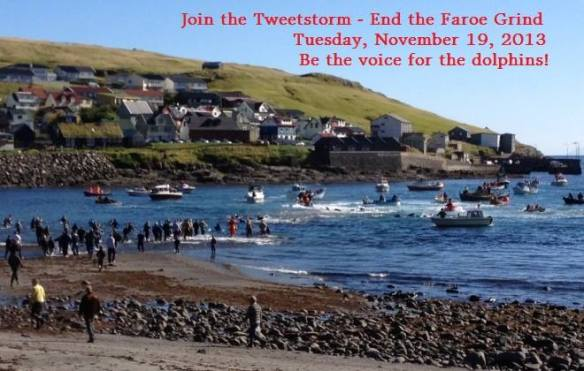 Join the Tweetstorm End the Faroe Grind Here!