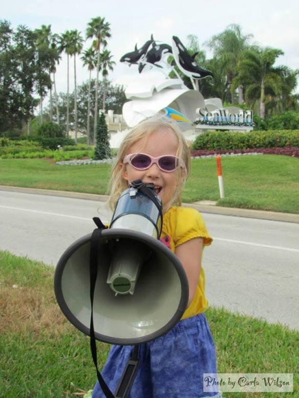 Join the demonstation at Orlando, SeaWorld on December 22, 2013