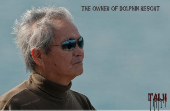Mr. Myoshi Dolphin Broker for Aquariums and Owner of the Dolphin Resort, November 2011 by Martyn Stewart