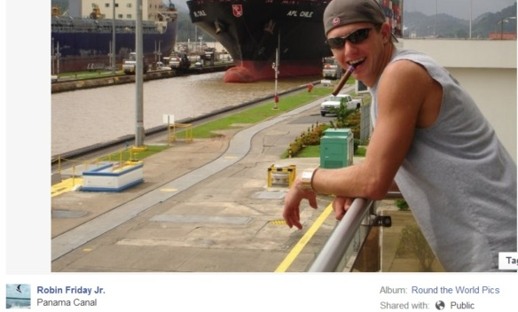 Robin Friday Jr. Panama Canal, around the world at the expense of wild Indo Pacific Dolphins