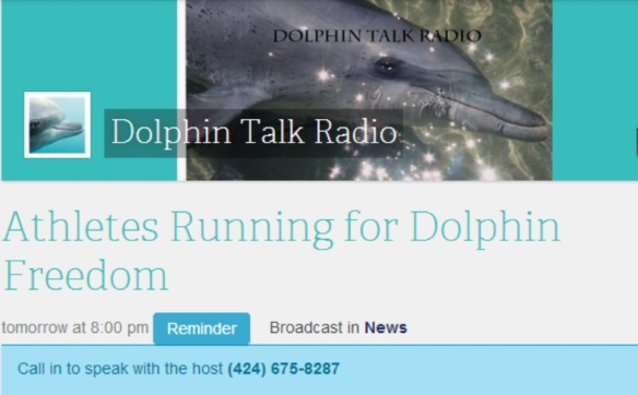 Join us for the show! Call in and get involved in spreading awareness for dolphins!