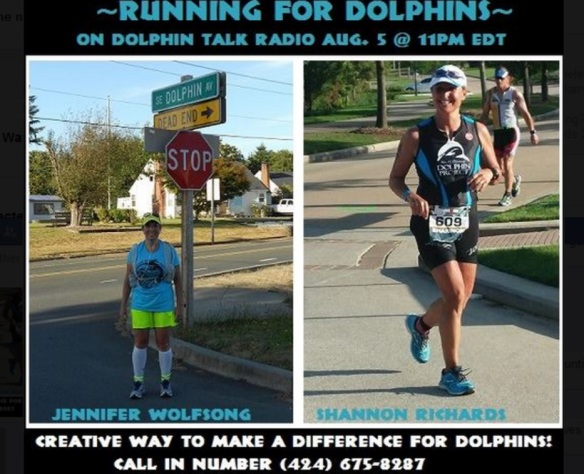 Meet Jennifer Wolfsong and Shannon Richards true champions for dolphins!