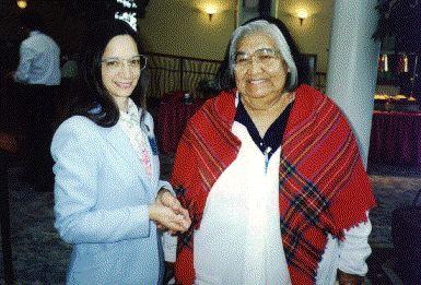 Alberta Tompson, Tribal Elder who vehemently opposes whaling.